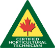 Logo for Certified Horticultrual Technician  desgination from Landscape Ontario