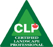 Logo indicating Certified Landscape Professional designation from Landscape Ontario
