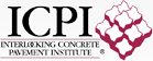 Logo for the Interlocking Concrete Pavement Institute (hardscaping)